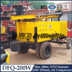 China Hydraulic DTH Drilling Rig DFQ-200W on sale