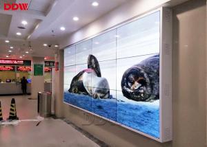 China Narrow Bezel LCD Screen Wall 3.5mm / Customized LCD Video Wall Display on sale