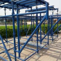 China Building Cuplock Scaffolding System Cuplock Ledger British Standard Environmental Protection on sale
