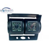 Car Dual Camera Rear view Parking Camera with 15 IR lights 700TVL Sony CCD