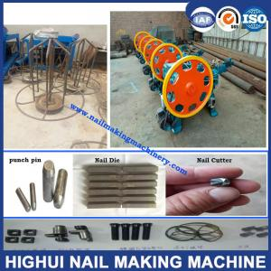China China Multi Usage Full Automatic Steel Nail Making Machine can make many kinds of nails on sale