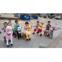 Factory mixed batch of children without musical slide Trojan horse wood mechanical horse
