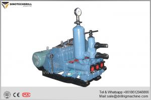 China Horizontal Double Cylinder Drilling Mud Pump For Geological Prospecting BW250 supplier