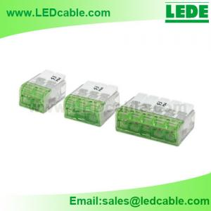 China Pushwire Junction Terminal Block Connector For LED Lighting on sale