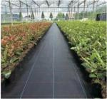 Black Color Ground Cover Landscape Fabric  PP Weed Control Mat