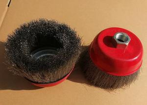 China Removing Paint Stainless Steel Wire Brush Cup Wheel Suitable For Industrial on sale