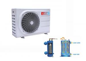 China Outdoor Mini Swimming Pool Household Heat Pump Free standing With Metal cabinet on sale