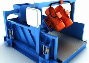 China Multi Stage Horizontal Vibrating Drilling Mud Shale Shaker on sale