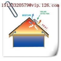 China 30W/DC Solar Roof Fan-metal on sale