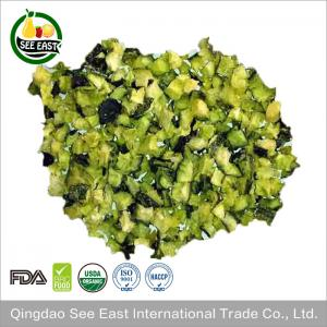 China Halal instant food dehydrated vegetable freeze dried cucumber on sale