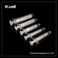 Three part Disposable syringes with needle
