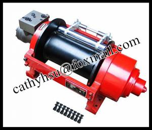 China 1-60 ton recovery hydraulic winch for sell supplier