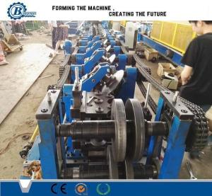 China C U Z Channel Purlin Roll Forming Machine , Angle Steel Truss Furring Machine on sale