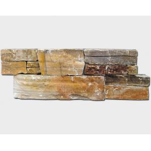 China Pedra dourada da cultura do cimento do quartzito on sale
