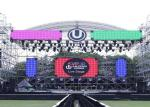 Saudi Arabia Outdoor Rental LED Display Nationstar 4.8mm Led Screen Stage Backdrop