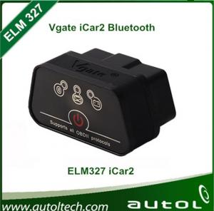 China Best quality with box Super vgate Icar 2 elm327 bluetooth,obd2 elm327 interface bluetooth OBD 2 Diagnostic scanner on sale