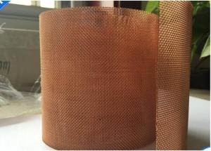 China Square Brass Mesh Screen/ Fabric2-200 Mesh Square Hole High Porosity For Filter on sale