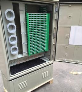 China SMC 288 Core Ftth Distribution Box Connection Cabinet Quick Installation on sale