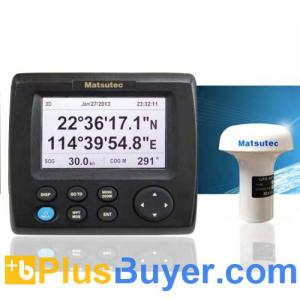 China Matsutec HP-33 Marine GPS / SBAS Navigator with 4.3 Inch LCD Screen on sale