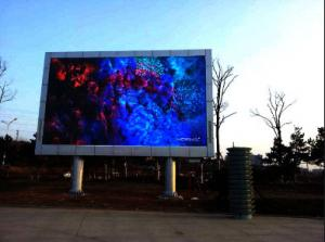 China IP65 P6 Outdoor Billboard Advertising Led Display Screen , RGB Led Video Wall on sale