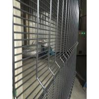 China Green Plastic Coating Wire Mesh Garden Fencing 358 Security For Airport Protect on sale