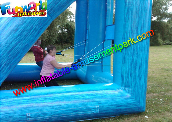 Crazy Summer Inflatable Water Wars Game Water Balloon Battle