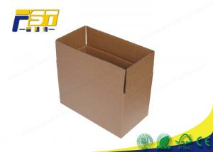 China Mailing Packaging Colored Corrugated Boxes 4c Offset Printing Eco - Friendly on sale