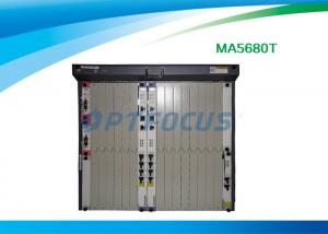 China 10G GPON optical network terminal , Epon OLT Mini Optical Line Terminal Ma5680T on sale