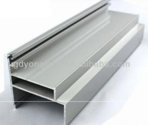 China Anodized Aluminum Sliding Door Handle And Lock Aluminum Wire Profile 6063 on sale
