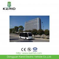 Self Drive Solar Powered Electric Car , Driverless Shuttle Bus 8 Seats Laser Control