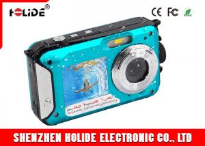 China Dual Screen High Definition Video Cameras Underwater 24.0MP 1080p Lithium Battery 550mah on sale