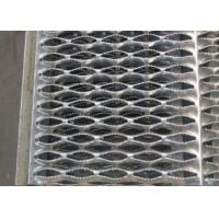 Black Galvanized Steel Stair Treads Serrated Grating Bar Anti Slipping