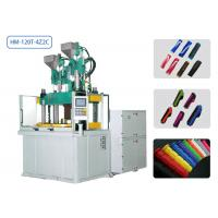 China 120t Automatic Injection Moulding Machine 2 Colors 2 Cavities For Bicycle Handle Bar Grips on sale