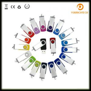 China Wholesale Factory Price swivel type stick usb flash drive with customized logo 1GB, 2GB,4GB, 8GB, 16GB on sale