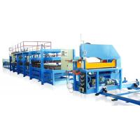Color Steel Sheet 0.4 - 0.8mm PU Sandwich Panel Making Machine Production Line