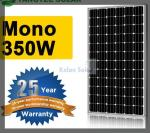 350W Flexible Mono Solar Panel Good Lamination , Strong Aluminium Frame