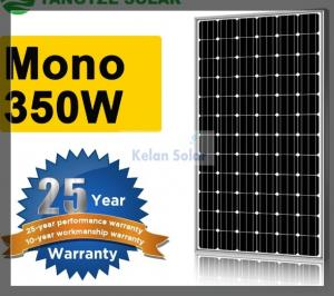 China 350W Flexible Mono Solar Panel Good Lamination , Strong Aluminium Frame on sale