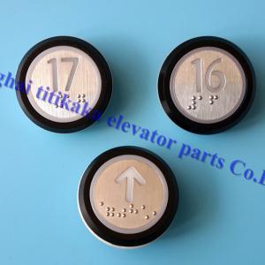 China DC 24V KONE Elevator Push Button A4J16467 A4J16465A2 With Braille on sale