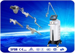 China 8.4'' Color Screen RF Fractional Laser Equipment For Skin Rejuvenation / Vaginal Tightening on sale