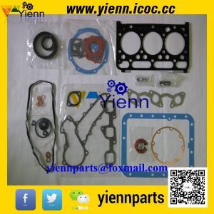 China Kubota D1462-TVL D1462 engine Overhual full gasket kit upper 07916-27710 lower 07916-27720 for Kubota ZL1-235 Tractor on sale