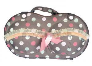 China Portable Eva Bra Travel Case Packing Cube For Female , Velvet Inner Lining on sale