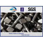 Zinc / HDG Diamond Neck Railway Bolt Rail Track Fish Bolt ASTMA / ASCE