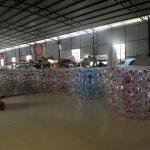 1.5M Transparent  Inflatable Bumper Bubble Ball/Inflatable Bumper bBall  In The Grass