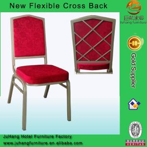 China High Grade Restaurant Chair With Metal Back Cross on sale