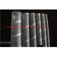 China OD 50.8mm Spiral Welded Perforated Metal Tube Piping Stainless Steel 304 316 409 on sale
