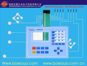 China LED Flexible PCB Keypad And Membrane Keyboard Switch With Metal Dome on sale