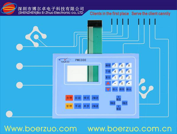 LED Flexible PCB Keypad And Membrane Keyboard Switch With