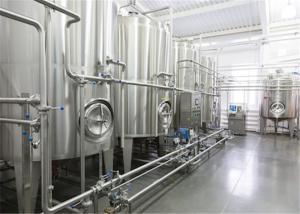 China Stainless Steel Fruit Juice Production Line , UHT Yogurt Production Machine on sale