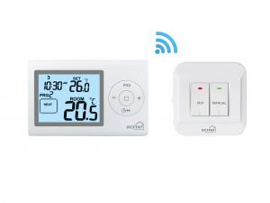 China Confortable Room Temperature Programmable Thermostat Control Heating Or Cooling Devices on sale