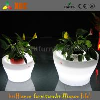 Big Remote Control Battery LED Planter with 16 Colors Change For Party